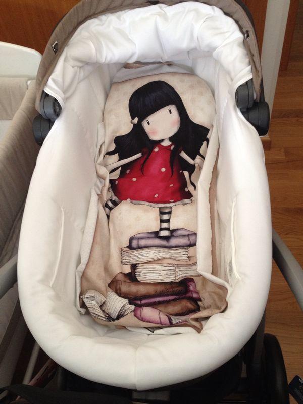 Mantita para bebe con tela Gorjuss