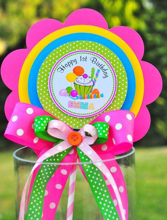 Felicitaciones coloridas para cumpleaños de verano