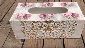 Tutorial para decorar una caja de pañuelos